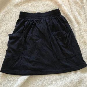 American Apparel High Waisted Skater Skirt